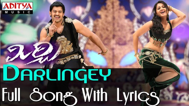 Darlingey Song Lyrics From Mirchi  Prabhas